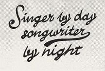 Quotes Caramelo Folk / Singer by Day, songwriter by night.