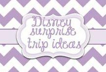 Disney Surprise Trip Ideas / by Lori McKinzie