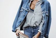 DENIM / You can never go wrong with denim, they will always be in, always be comfortable.