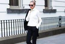 Minimal + classic / white / nude / grey / black / denim / leather