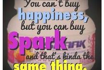 Started with a SPARK.... / FACEBOOK GROUP PAGE https://www.facebook.com/groups/554234218046325/ / by Lori McKinzie