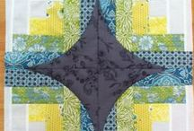 Quilts - cathedral window / All the quilts and inspirations for quilts with cathedral windows and faux cathedral windows