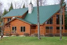 "Rustic Shingle Metal Roofing / The Rustic Shingle is considered a ""shake"" look and comes in many different colours."
