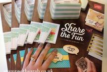 Stampin' Up & Inspiration / by Erika Sissons
