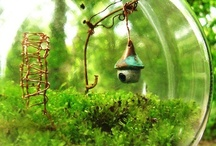 Faerie Gardens / I've become mildly obsessed with making a home for Arrietty