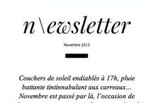 newsletters / by Emilie