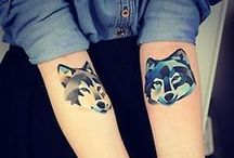 { tattoos } / by Kristina Hin