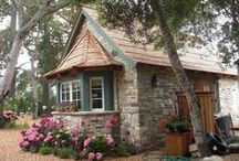 Cottages / I love cottage style and tiny homes #tinyhouses , shipping container homes and modulars
