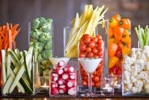 Party / Party decor decorations favors recipes appetizers desserts treats parties buffet / by Stephanie Pugh