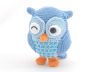 Hooked Animals and Toys / stuff with animal motifs (hats, blankets, bags, etc) and crocheted toys
