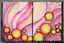 Art Journaling Love: Circles / by Crafty Lou