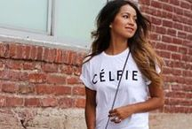 Style: Graphic Tees / Graphic tees and sweatshirts are a girl's best friend. / by Chic Galleria