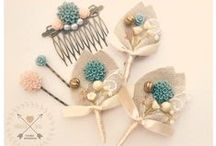My Boutonniéres / Handmade boutonnieres - created by me - for your Groom, Groomsmen, Bestman, Father and Ringbearer boy. Wedding buttonhole creations with love. NEW boutonniere shop on Etsy: http://groomscorner.etsy.com / by Dorottya Señorita