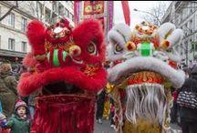 Le Nouvel An Chinois défile dans les rue de Paris