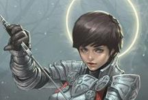 Fantasy / Character Design, Concept Art,