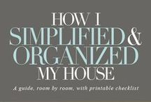 An Organized Home / All the tips you need to follow to have an organized home.