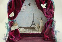 Poème de papier / Magie de papier, théâtre de marionnettes...