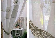 daniela mazzero - mie creazioni / Tende,cuscini e decorazioni in tessuto per la casa