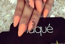 Nails [Jellow & Orange]