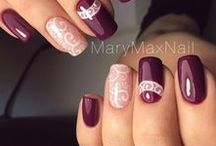 Nails [Red & Purple]