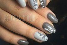 Nails [Gray & Silver]