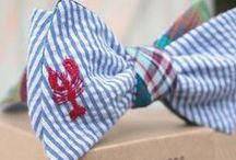 Bow ties east coast style - mens fashion classic & modern / Inspiration of modern and classically styled menswear, showcasing tailored bow ties.