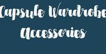 Capsule Wardrobe Accessories / Our specialty is helping you create a mixable wardrobe on a budget. We help you revamp your wardrobe so that it's a functional minimalist capsule collection. You will discover a style that looks polished, chic, and confident. www.shopchicgalleria.com