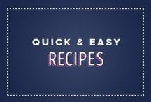 Quick & Easy Recipes