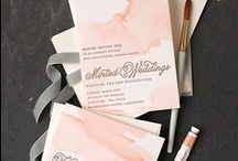 DIY / For a DIY wedding. The bride's guide to making her wedding happen on her own!