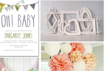 Showers Galore / Baby & Bridal shower ideas / by Holly Thomas