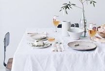 Let's Eat / Nothing makes a meal more special than a well decorated table.