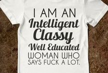 T-shirts I need in my life / I do love a good t-shirt.