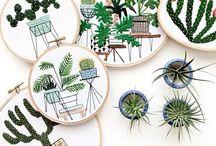 Hooptastic! / #embroideryhoop #hoop #hoopart #embroideryhoopart #embroiderywallart #embroidery