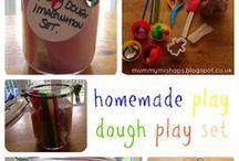 Play Dough Play Ideas