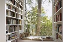 Books, Books and .... / Books! Great interior inspiration for all your books :)