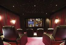 Home Cinema Inspiration / The beste home cinema's, because we all want to watch TV at home!