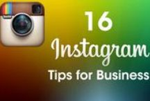 Instagram For Business / How to be an insta success with your business - how-to's, blogs and vlogs to master the photo sharing platform.