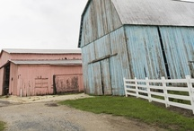 OLd Pl@CeS / barns, churches & places