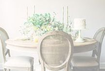 DINE / Table settings for weddings, parties and the occasional home cooked meal.  / by Alexia Conley