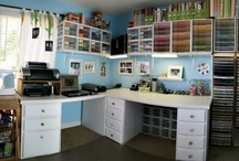 Organizing & Craft Room Ideas / by Lerryn Meza