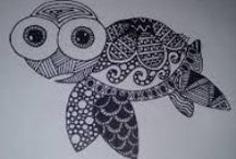 CRAFTS/Zentangles & Doodles / by MJ Murray