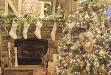 CHRISTMAS TREE COUNTRY DECOR / by MJ Murray