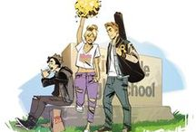 Archie #1 / Concept art and promotional artwork for ARCHIE #1 coming from Mark Waid & Fiona Staples in 2015!