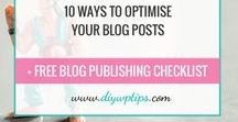 Free Blogging Resources / WordPress and Blogging resources, downloads, checklists, tutorials, worksheets, how-to guides and more. Tips and steps to help you design, build, market, promote and grow your blog. All Free.