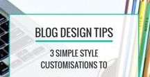 Blog Design Tips / Blog design tips, inspiration, ideas and tutorials to help you design and build a WordPress blog that reflects your personality and brand.
