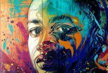 Street Art + Illustrations / Posters, street art, illustration, etc.