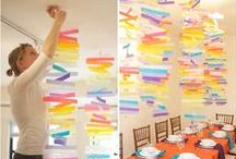 Party Decoration Ideas / Party decoration ideas, tips and crafts.