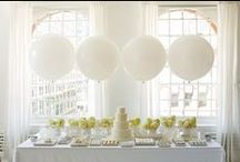 Party Tables Inspiration / Some of our favourite party styling ideas and tablescapes.