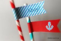 Nautical Party - Kid's Birthday Parties / Nautical Party ideas, decorations, printables, party favors, diy crafts, food and inspiration.