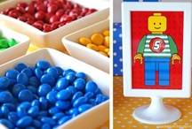 Lego Party - Kid's Birthday Parties / Lego Party ideas, decorations, printables, party favors, diy crafts, food and inspiration.